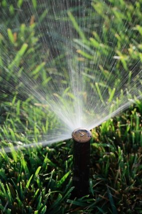 Lawn sprinkler service by Clean Slate Landscape & Property Management, LLC.